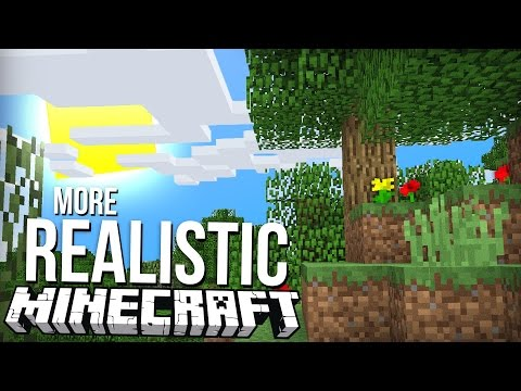 REALISTIC MINECRAFT IN SECONDS