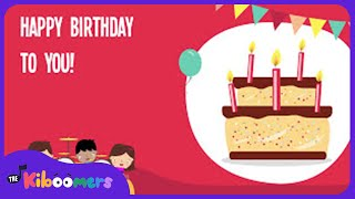 Happy Birthday Song | Happy Birthday To You Dance | Lyric Video | The Kiboomers