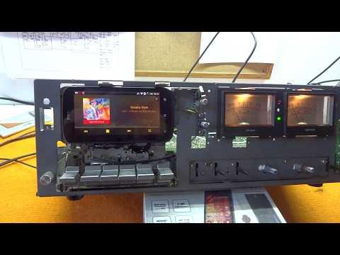 Palladium vintage deck as internet radio - MP3 Tapeless Deck Project
