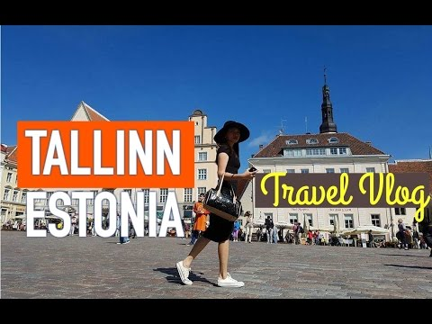 Tallinn, Estonia - Tourist Attractions - My travel Vlog