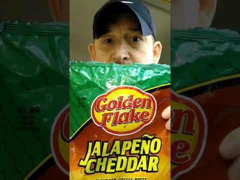 Golden Flake Jalapeno Cheddar Cheese Puffs