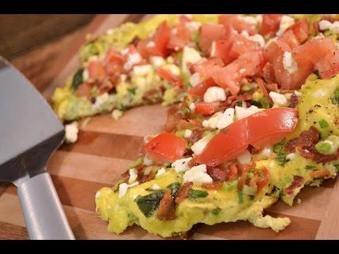 Bacon Feta Egg Frittata - Italian Style Omelet Recipe | RadaCutlery ...