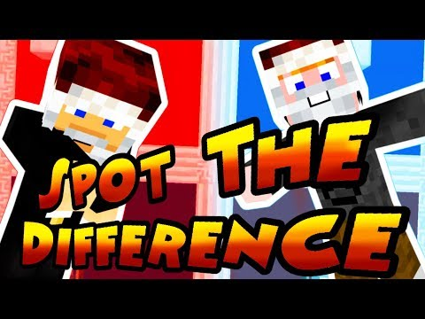 Minecraft - Spot The Difference: Christmas Edition! [KERESD!]