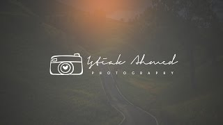 Photoshop Tutorial: Photography logo Design