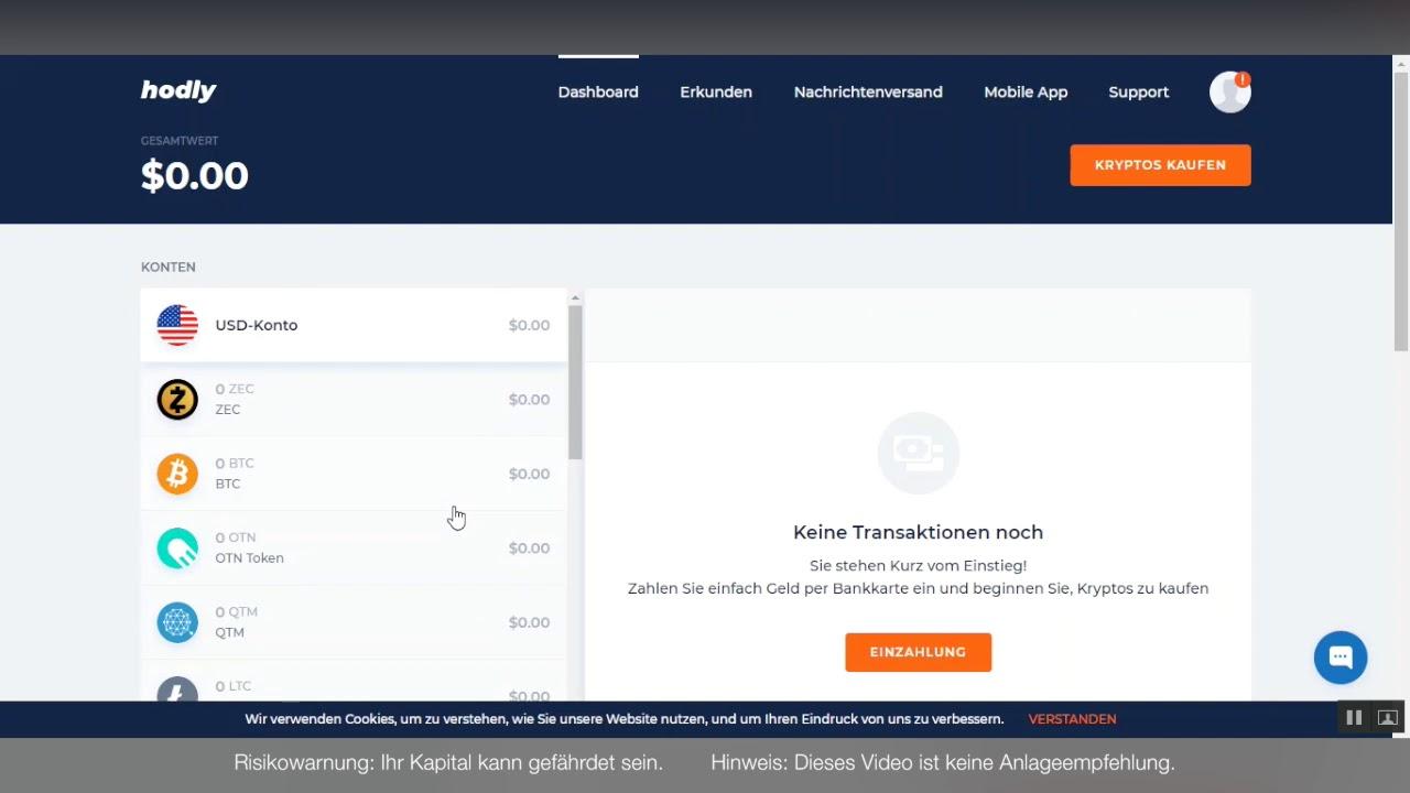 kryptowährung kaufen und aufbewahren iforex schutz vor negativem handelssaldo