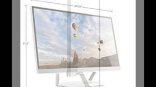 HP Pavilion 27xw 27-in IPS LED Backlit Monitor