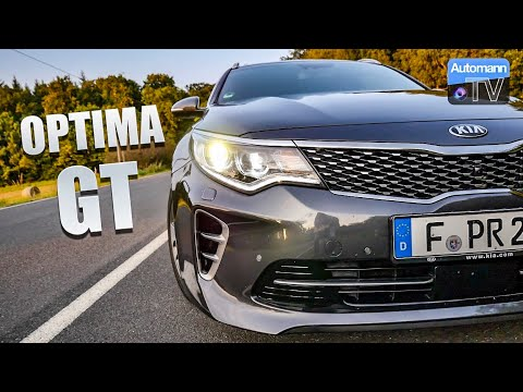 2017 KIA Optima GT (245hp) - #AutomannTalks (60FPS)