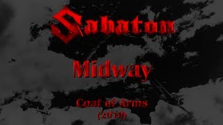 Repeat youtube video Sabaton - Midway (Lyrics English & Deutsch)