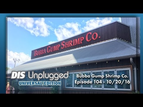Bubba Gump Shrimp Co. CityWalk Review  | Universal Edition | 10/20/16