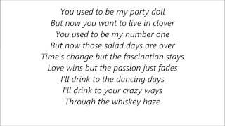 Mick Jagger - Party Doll Lyrics on Screen