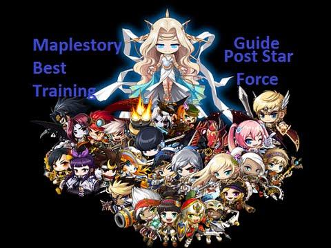 Maplestory Best 2015 1-250 Training Guide Post StarForce V.159