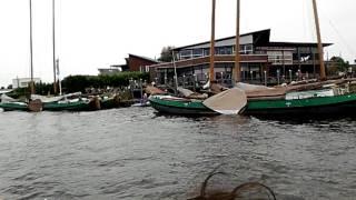 Канал в Нидерландах (на плоскодонке)