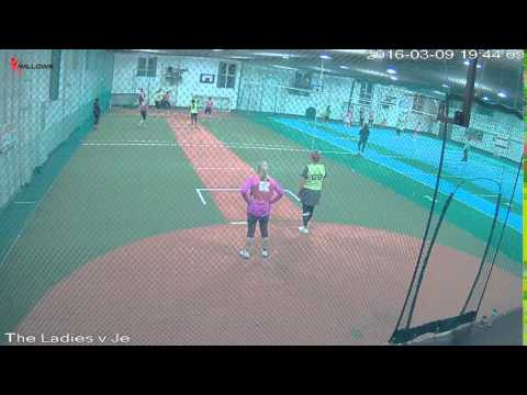 24702 Court1 Willows Sports Centre Cam1 The Ladies v Jelly Tots