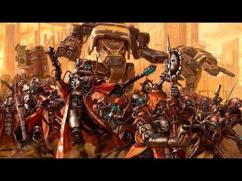 Exploring Warhammer 40k: The Adeptus Mechanicus |