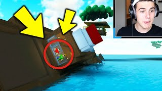 BUILD A BOAT BATTLE *GONE WRONG* .. (Roblox)