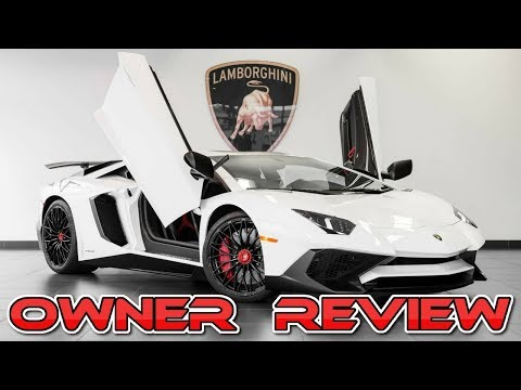 Lamborghini Aventador SV Ownership Review & Driving My LP 750-4 SuperVeloce With ACCELERATIONS