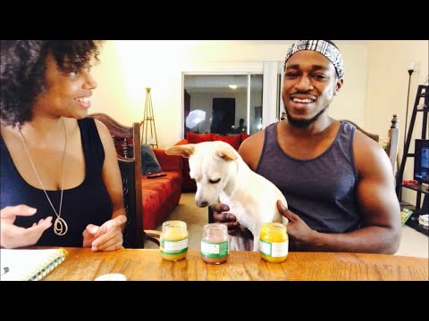 our-puppy-chico-bean-tries-baby-food!!-baby-food-challenge-doggy-style!!