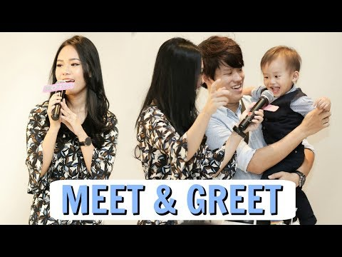 FAMILY VLOG #13 : FIRST MEET & GREET IN JAKARTA!
