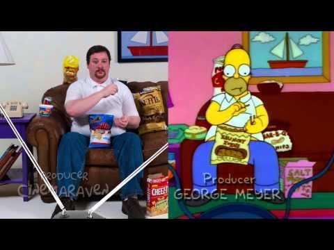 Video furor en las redes: Conocé al increíble clon de Homero