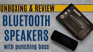 Agaro Indulge Bluetooth Speaker | Agaro Bluetooth Speaker Review #Agaro #AgaroSpeakers