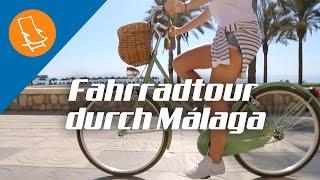Mit dem Fahrrad durch Malaga
