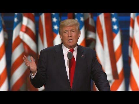 Donald Trump Formally Accepts Republican Nomination