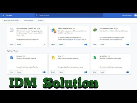 new-...-cara-aktifkan-idm-di-google-chrome-terbaru-latest-version