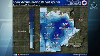 Oklahoma Weather Forecast: Jan. 3-4, 2019