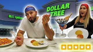Making the best RATED 5 STAR meal using ONLY Dollar Tree Food!