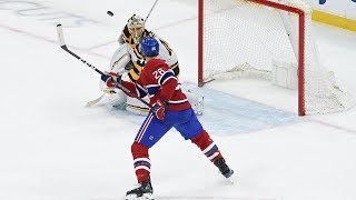Jeff Petry backhands OT winner out of the air to collect 200th NHL point