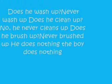 The Boy Does Nothing - Alesha Dixon [Lyrics]