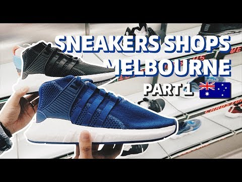 Sneakers Shops di Melbourne Part 1 Bahasa Indonesia