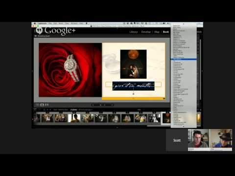 Lightroom Hangout: Bodacious Book Layouts with Scott Kelby