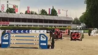 CSIO4 Linz 2017 150 cm Łukasz Koza POL Chito Blue