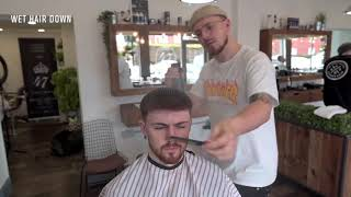 Ollie Foster at Number 47 Barbers