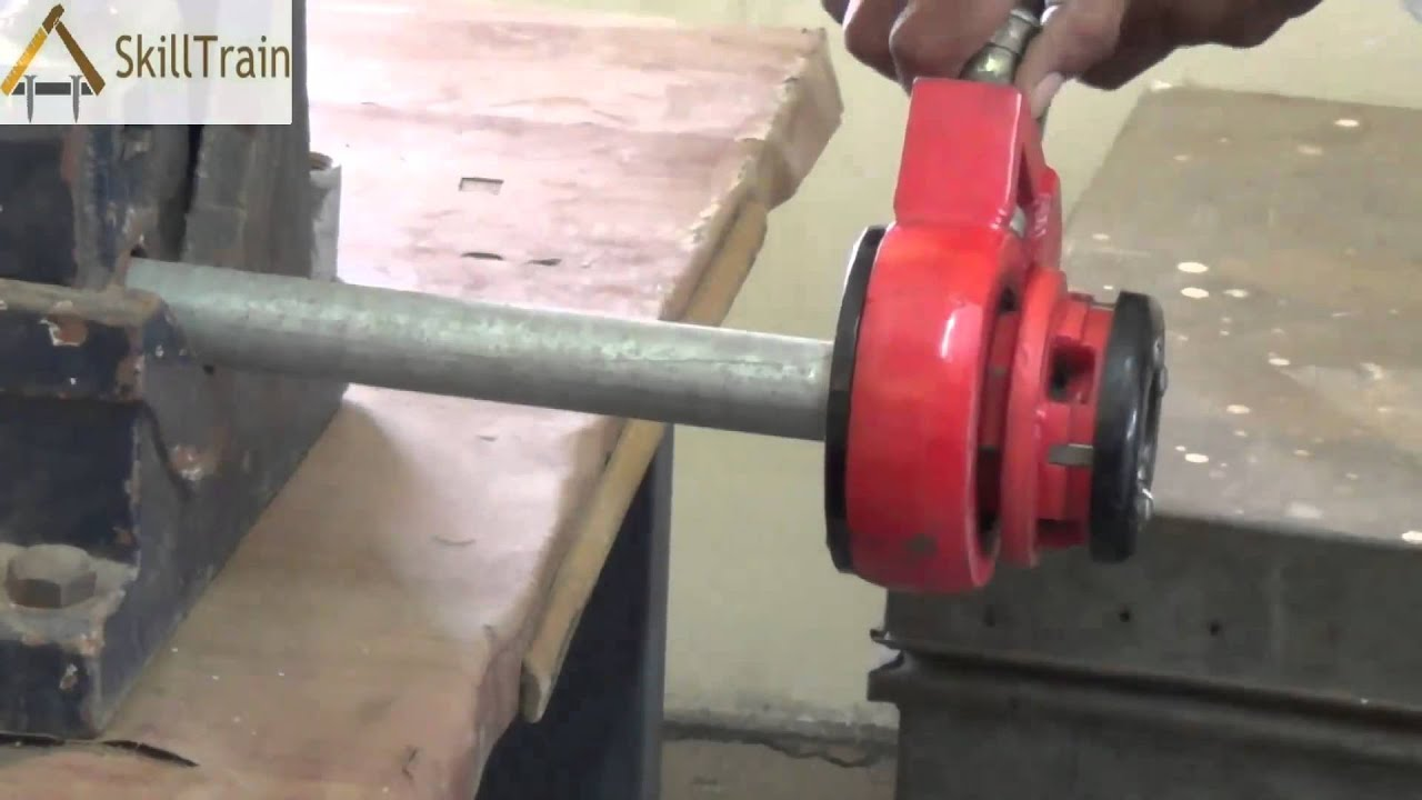 Making Threads On A Gi Pipe Hindi Youtube China Pvc Electrical For Conduit Wiring Photos Pictures Made
