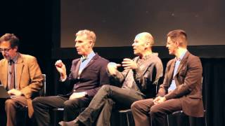 CUCSD Panel on Nuclear Energy: Bill Nye, Andy Revkin, Gernot Wagner, Robert Stone (PT3)