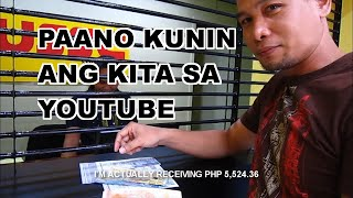 How To Cash Out P5,000 Earnings From YouTube Google Adsense
