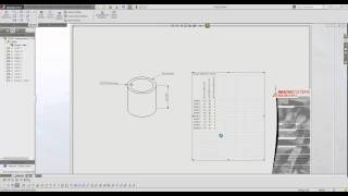 How To Show Design Table In Drawing In Solidworks