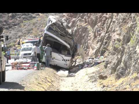 Bus crash claims 24 lives