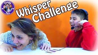 Whisper Challenge - Family Fun mit Aynur und Cihan