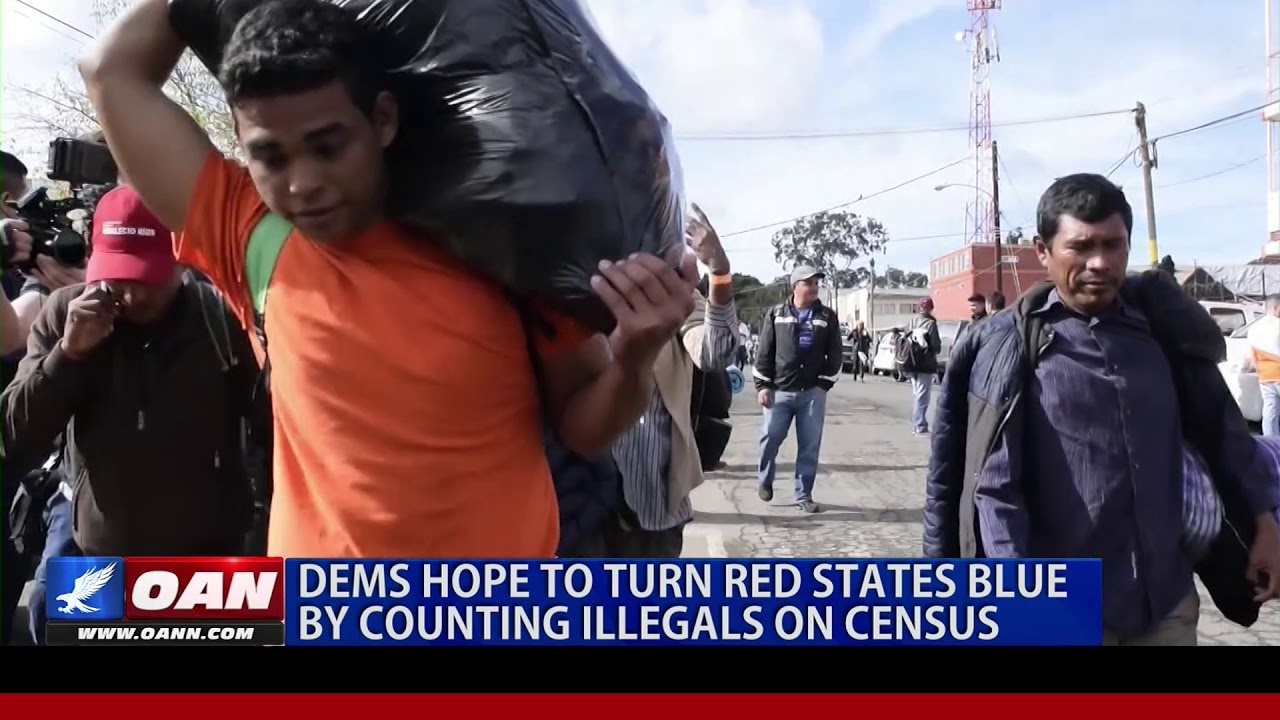 Democrats hope to turn red states blue by counting illegals on census
