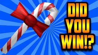 DID YOU WIN THE FREE CANDY BLADE? (ROBLOX ASSASSIN)