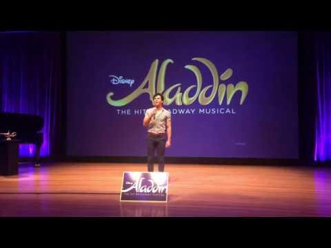 Aladdin Musical Preveiw - Proud Of Your Boy