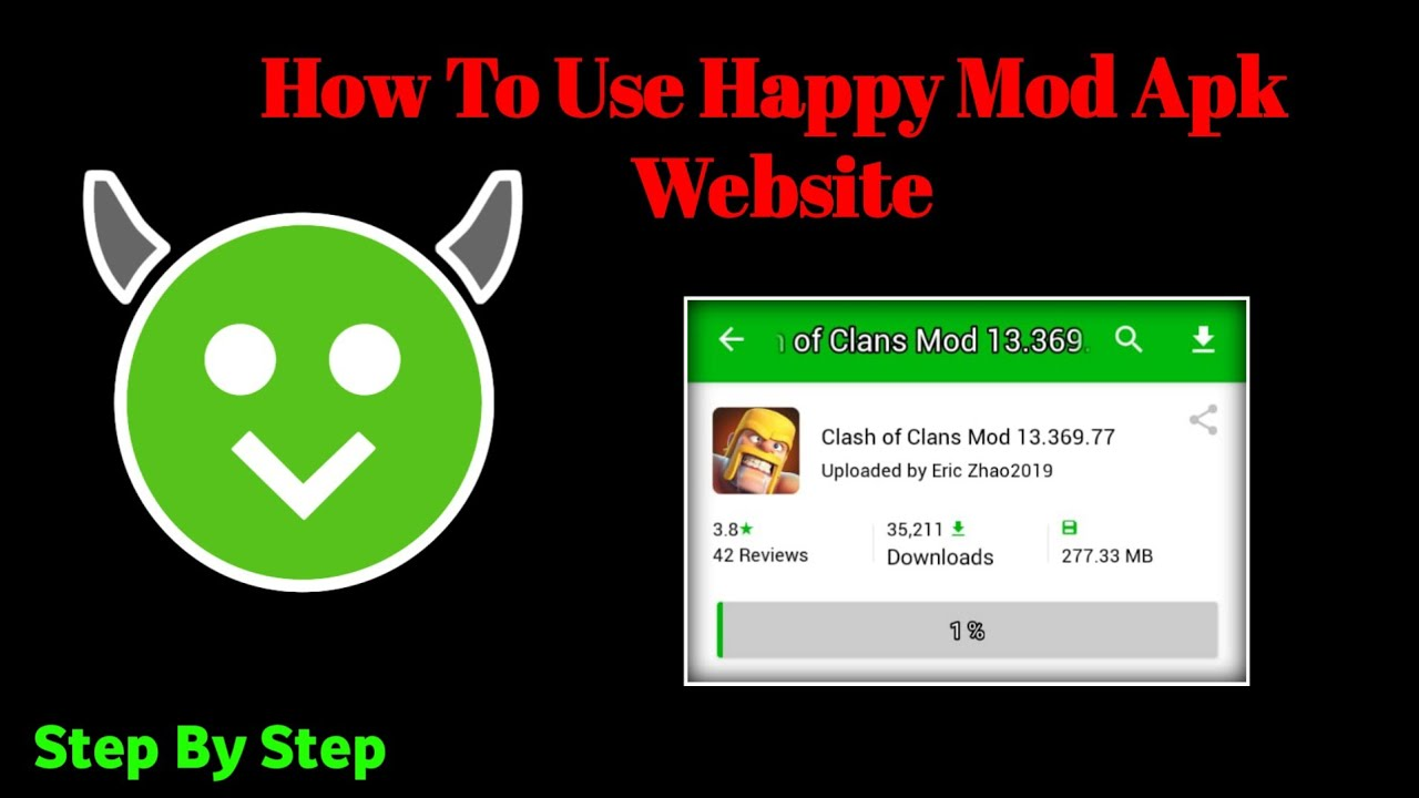 How To Use HappyMod Apk Website Download &Use App without