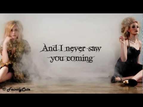 Aly & AJ - Bullet - Lyrics