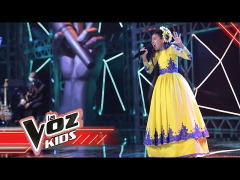 Angelyn canta 'Vivir lo nuestro'   La Voz Kids Colombia 2021