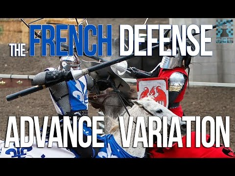 Playing The French Defense, Advance Variation - GM Damian Lemos (EMPIRE CHESS)