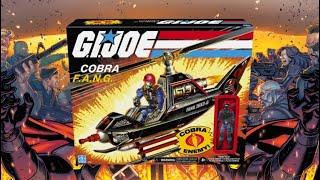 G.I. JOE Cobra FANG Retro Review