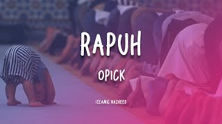 Download Mp3 Rapuh-opick  Instrumental Cover